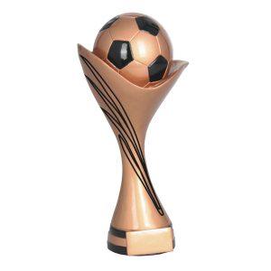 Statuetka piłkarska brązowa RFST2061/AG - trzy rozmiary