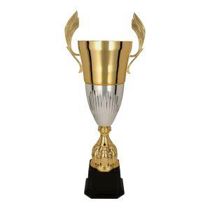 Złoto-srebrny puchar sportowy Diuna 3105