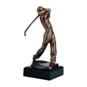 Statuetka golf, golfista RTYR3707/BR