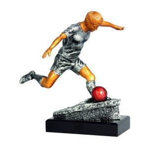 Figurka odlewana, piłka nożna RFST5054/GR