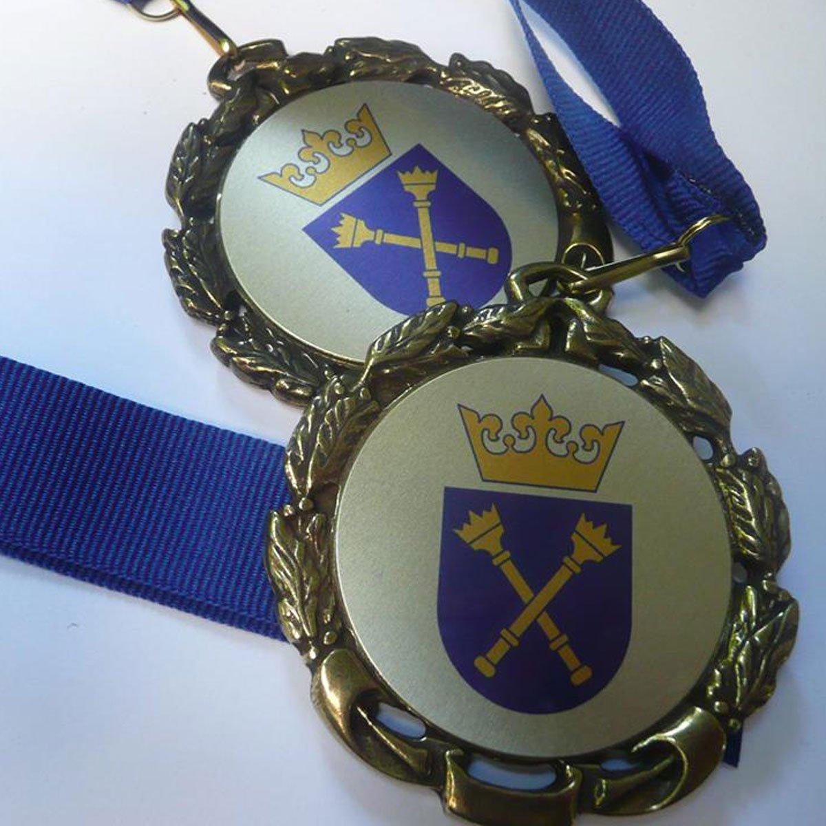 Medale ze wstążkami UJ