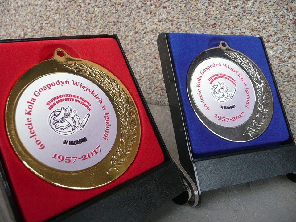 Medale okazjonalne Stowarzyszenie Kobiet Koło Gospodyń Wiejskich