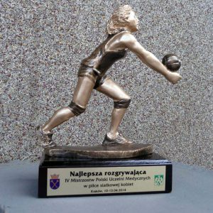 Statuetka sportowa dla Najlepszej rozgrywającej - siatkówka kobiet