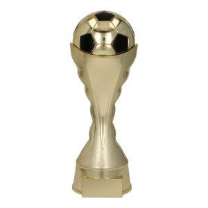 Złota statuetka piłkarska B280/G/BK - Piłka nożna