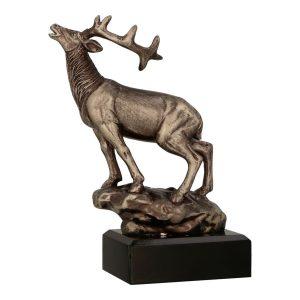 Brązowa statuetka odlewana RFST3010/BR - Leśnictwo, myślistwo