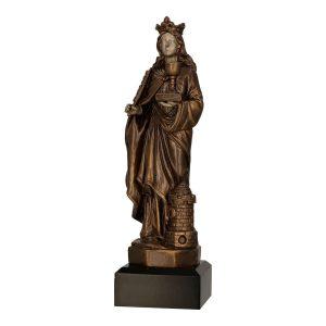 Statuetka odlewana RFST3012 - Górnictwo, święta Barbara
