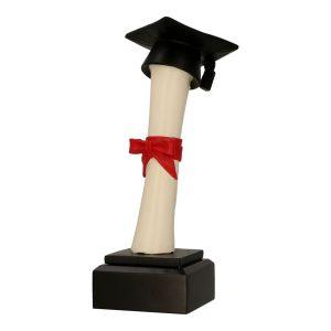 Statuetka odlewana RFST3013 - Edukacja, szkoła, uczelnia wyższa, zakończenie roku