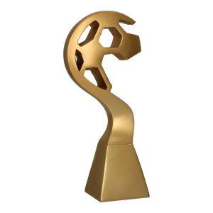 Złota statuetka odlewana RP5010 - Piłka nożna