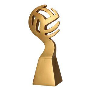 Złota statuetkaodlewana RP5012 - Siatkówka