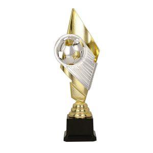 Złoto-srebrny puchar piłkarski Pele 8311 - Piłka nożna