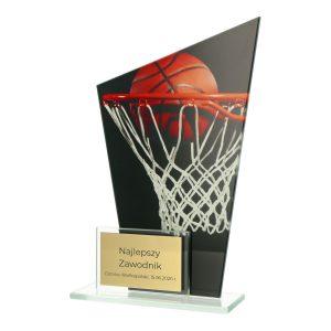 Statuetka DUAL DG1/BAS piłka koszykarska w koszu