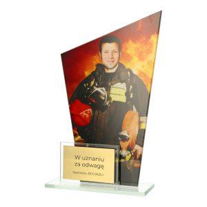 Statuetka DUAL DG1/FIR - nagrody dla straży pożarnej Kraków